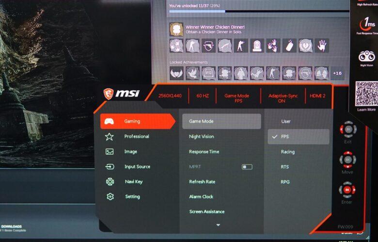 MSI OPTIX G273QF 38