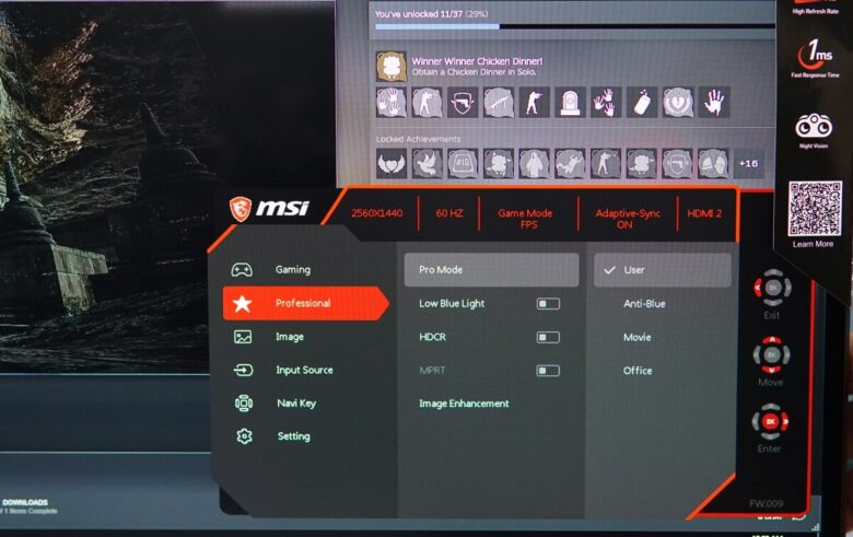 MSI OPTIX G273QF 39