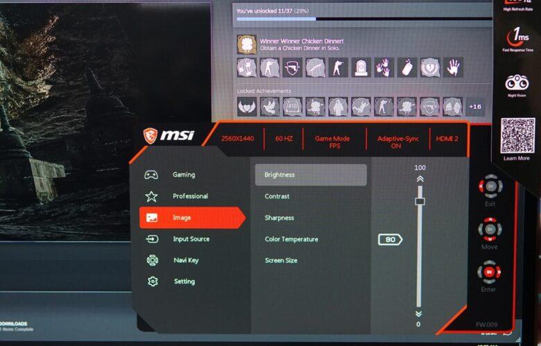 MSI OPTIX G273QF 40