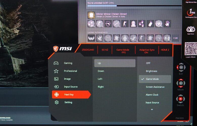 MSI OPTIX G273QF 42