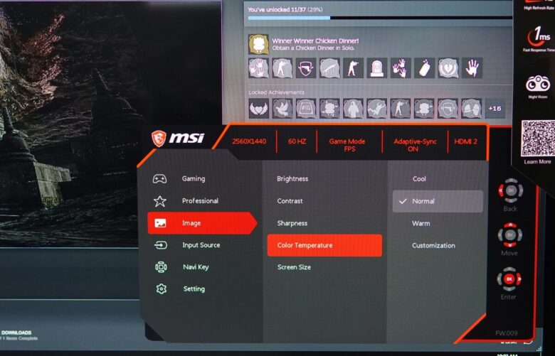 MSI OPTIX MAG273QF