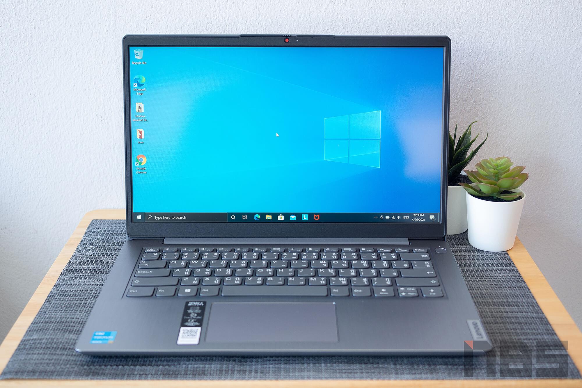 Review Lenovo IdeaPad Slim 3i pentium NotebookSPEC 22