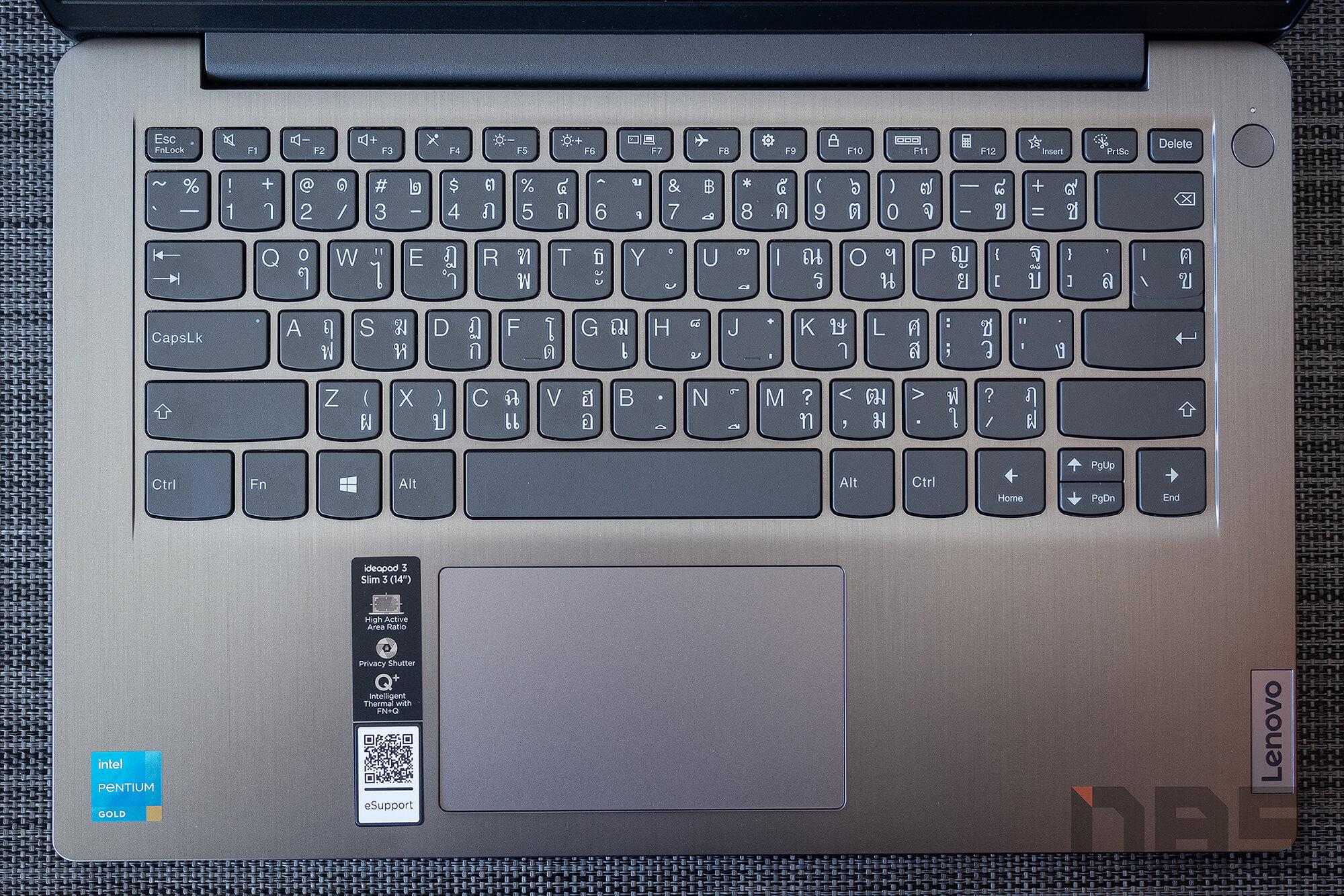 Review Lenovo IdeaPad Slim 3i pentium NotebookSPEC 27