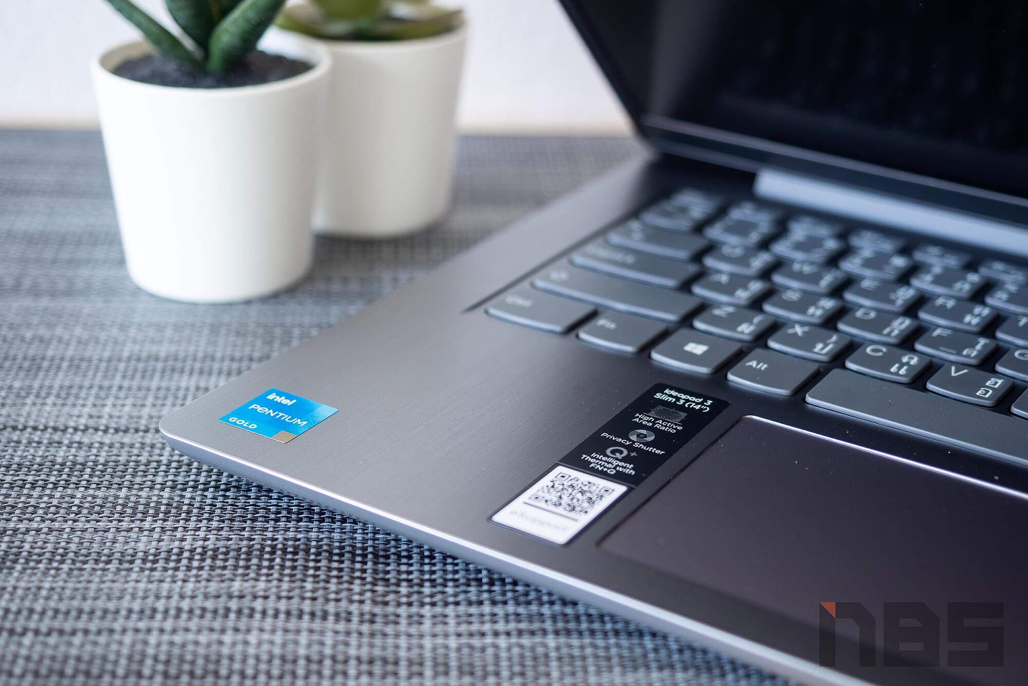 Review Lenovo IdeaPad Slim 3i pentium NotebookSPEC 46