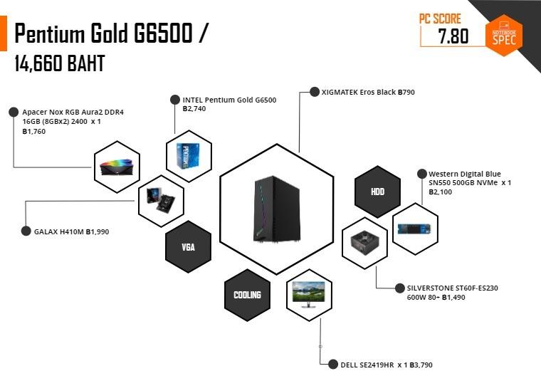 intel pentium gold g6500 14k