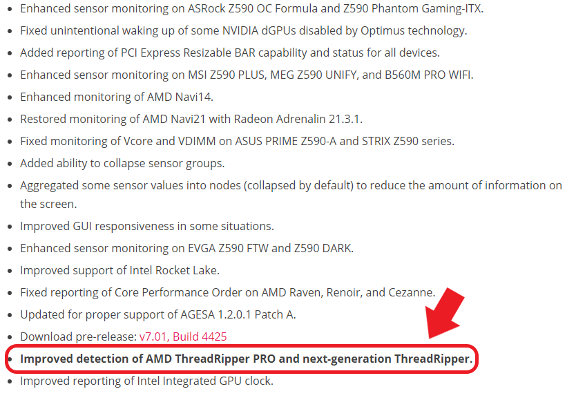 threadripper leaked