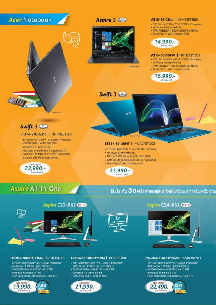 Acer Promotion 2021