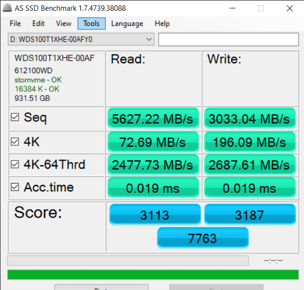 AS SSD Benchmark 1.7.4739.38088 5 19 2021 5 26 26 PM