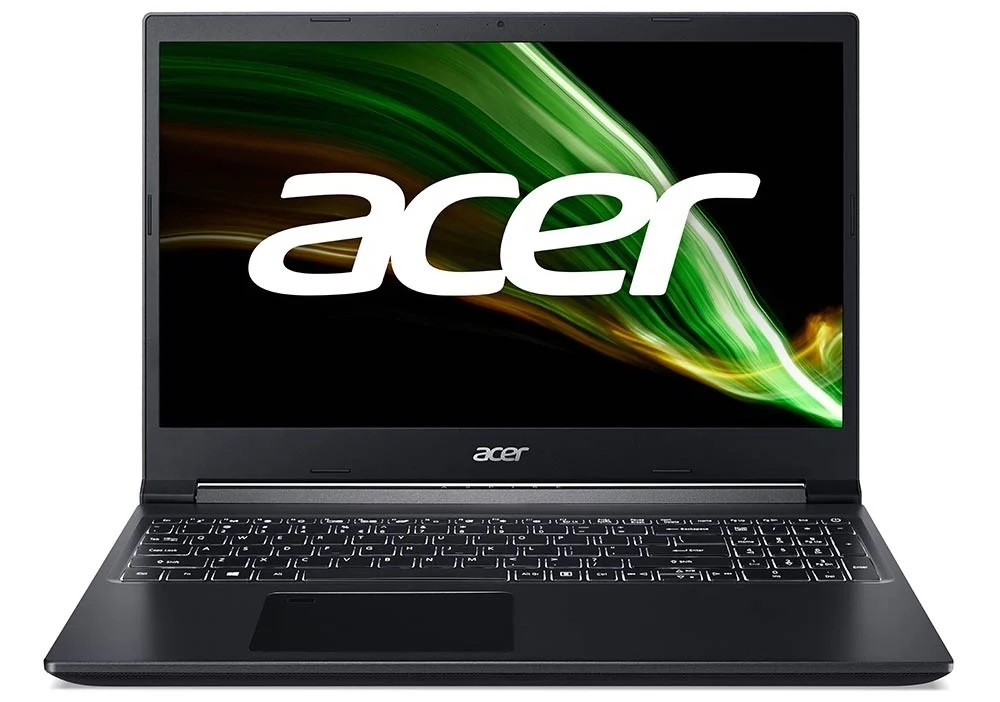 Acer Notebook Aspire A715 42G R7RS Black 1
