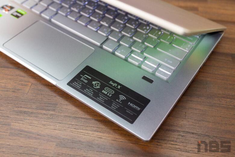 Acer Swift X R5 GTX1650 Review 25