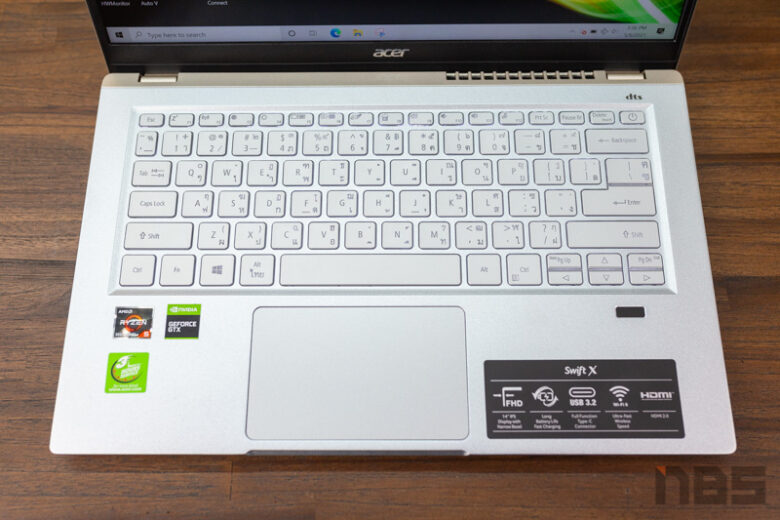 Acer Swift X R5 GTX1650 Review 4