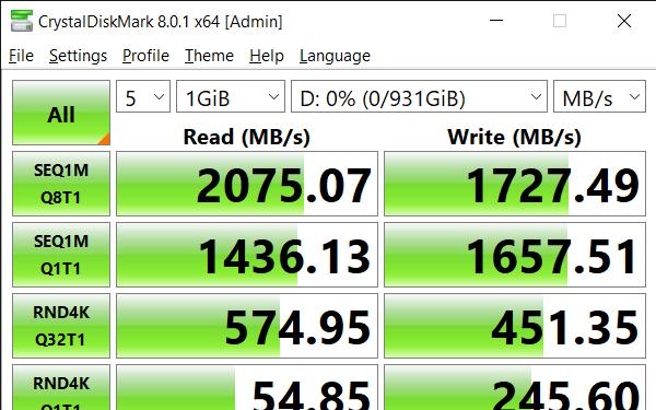 CrystalDiskMark 8.0.1 x64 Admin 5 14 2021 2 38 06 PM