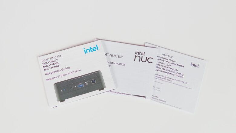 Intel NUC11PAHi5 19