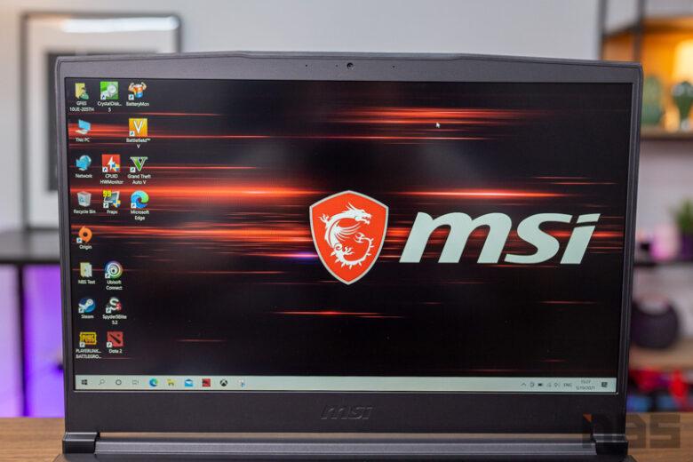 MSI GF65 i7 RTX 3060 Review 21