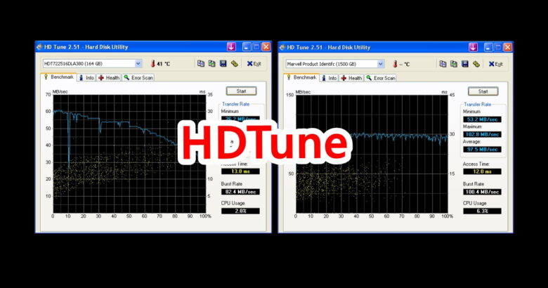 Related HDTune check HDD 2