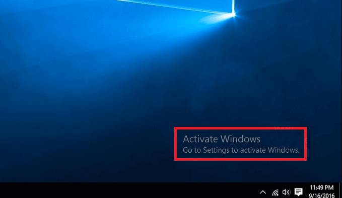 Remove Activate Windows 10 Watermarkk