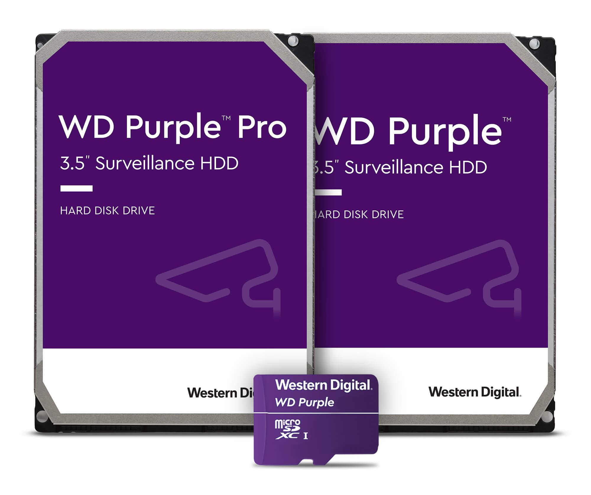 WD Purple Family