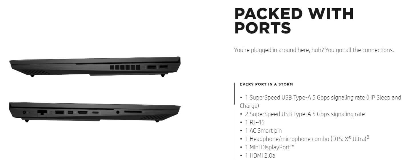 ports 1
