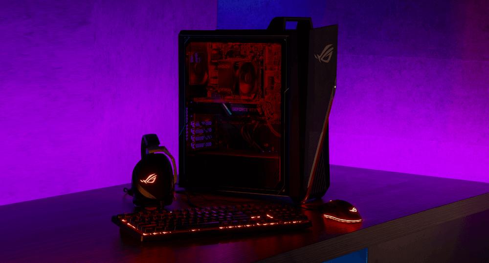 rog strix desktop smol