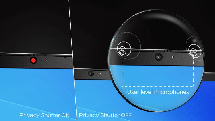 Ideapad 3i Closeup Privacy Shutter Hidden Microphone