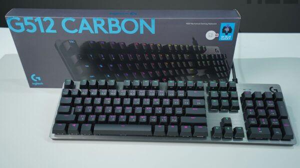 Logitech G512 CARBON 01