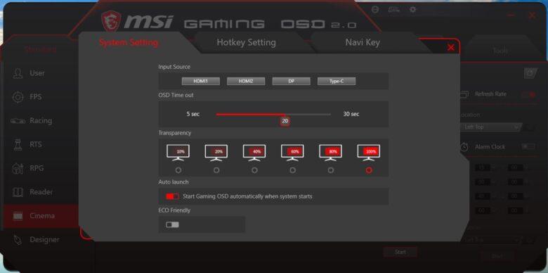 MSI Gaming OSD 1