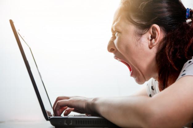 asian woman feeling rage while using laptop 36928 28