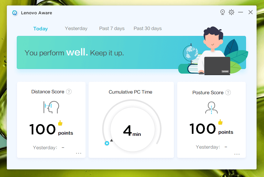 posture score real time