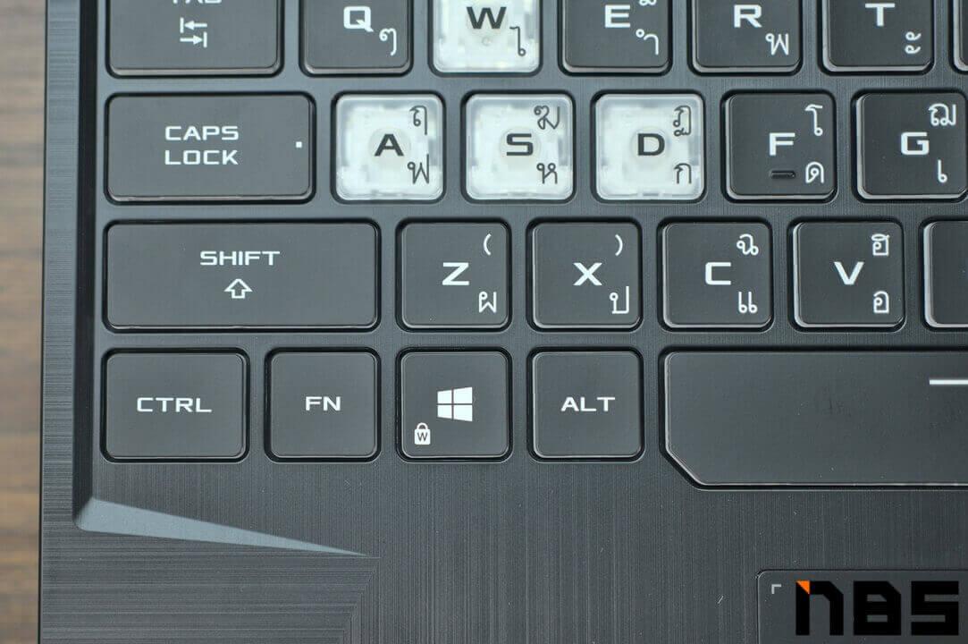 ASUS TUF Gaming F15 DSC05613