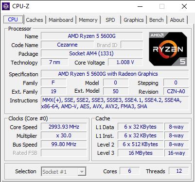 CPU Z 7 22 2021 4 58 01 PM