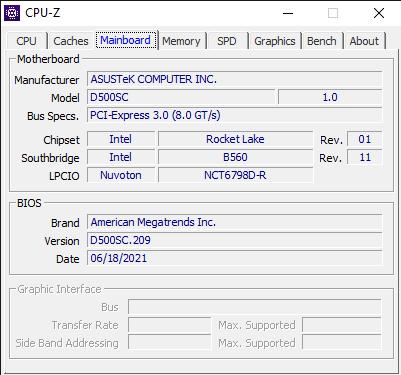 CPU Z 7 23 2021 11 18 52 AM