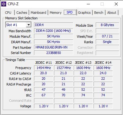 CPU Z 7 23 2021 11 18 57 AM