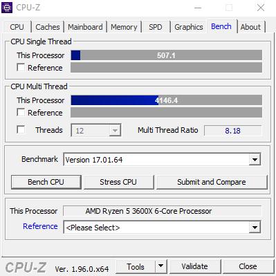CPU Z Bench