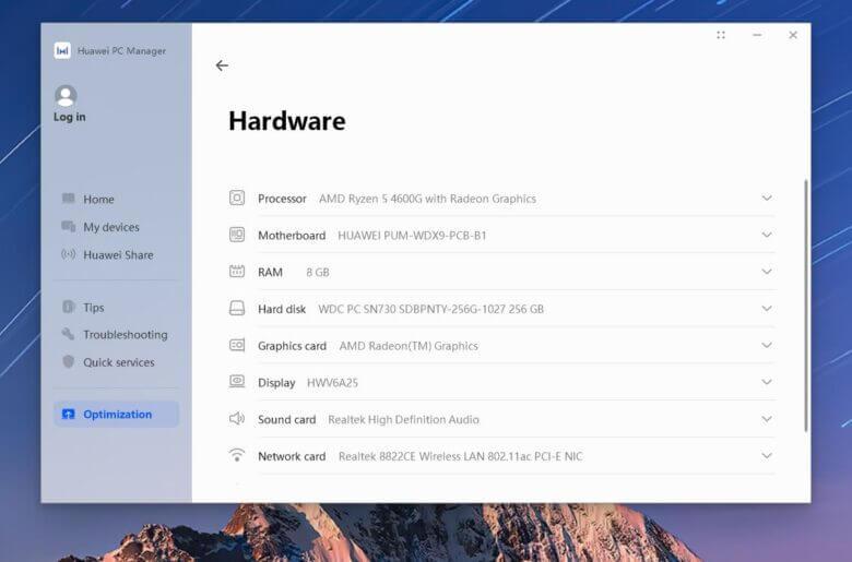 Huawei fingerprint hello Windows10 6