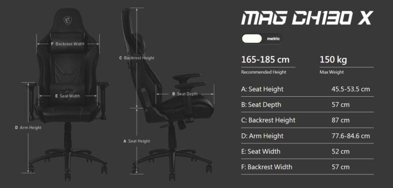 MSI MAG CH130 X