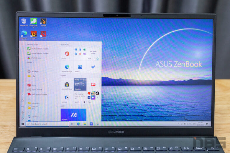ASUS ZenBook 14 Ryzen 9 5900HX Review 18