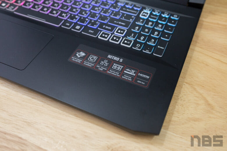 Acer Nitro 5 17 R9 RTX3080 Review 17