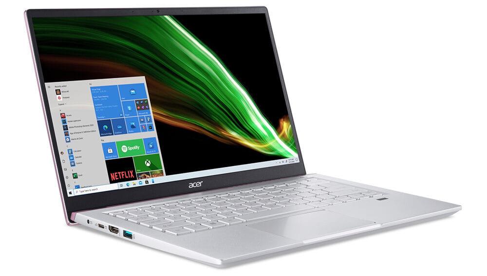 Acer Notebook Swift SFX14 41G R059 Pink 3 e1629358499390