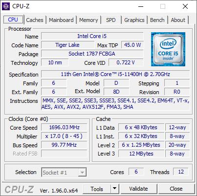 cpu z1 1