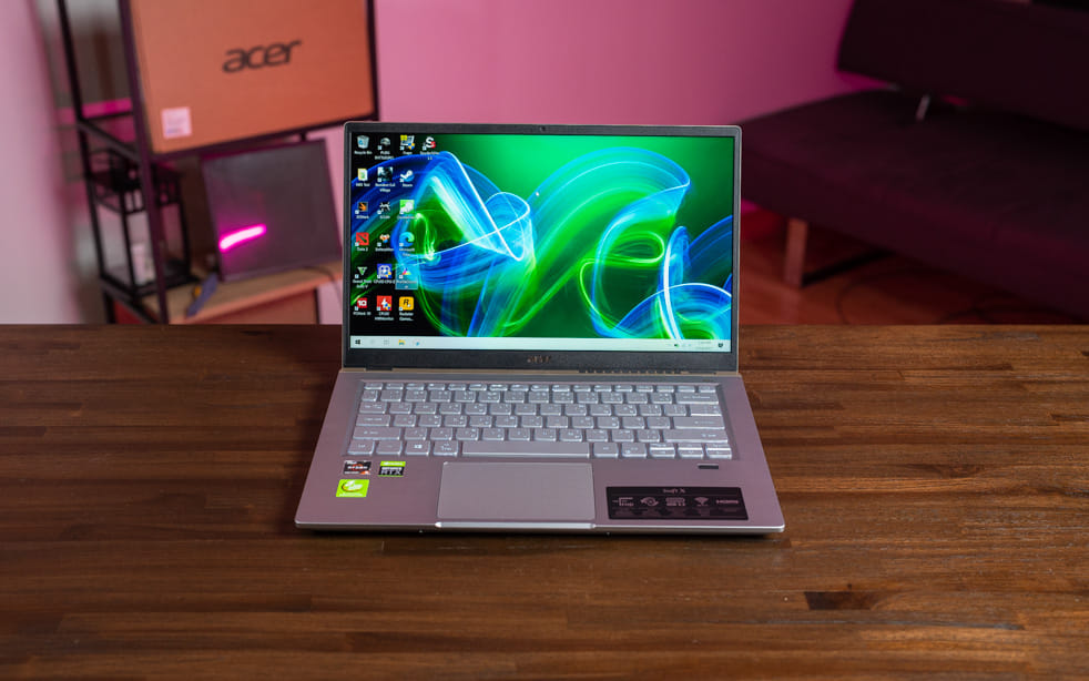 Acer Swift X R5 RTX3050 Top 1