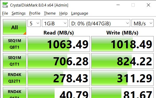CrystalDiskMark 8.0.4 x64 Admin 9 10 2021 3 40 59 PM