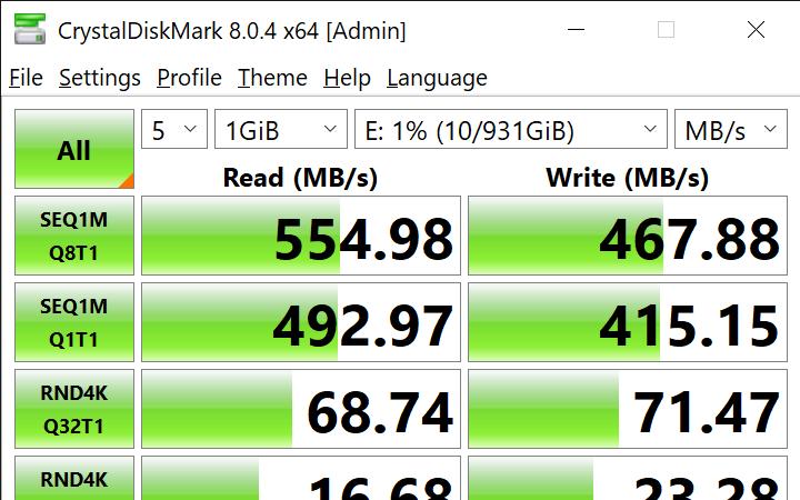 CrystalDiskMark 8.0.4 x64 Admin 9 3 2021 2 16 11 PM