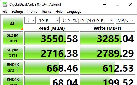 CrystalDiskMark 8.0.4 x64 Admin 9 8 2021 5 46 17 PM