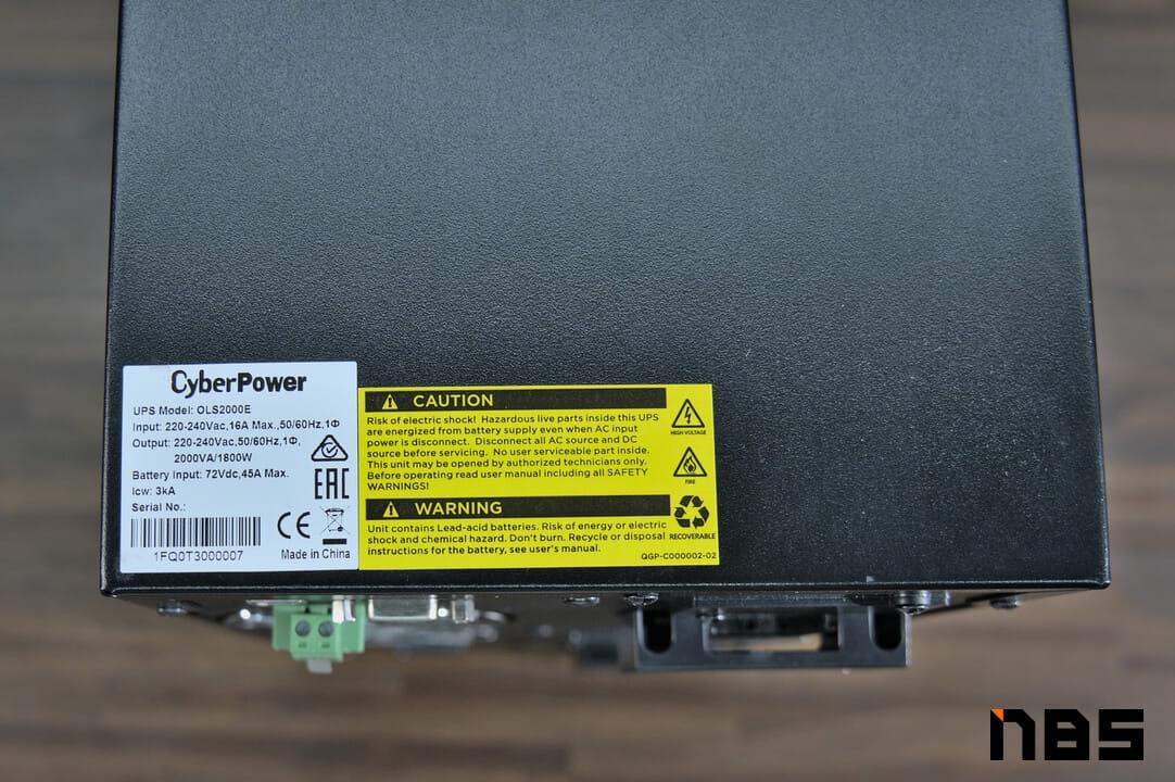 CyberPower OLS2000E DSC06902
