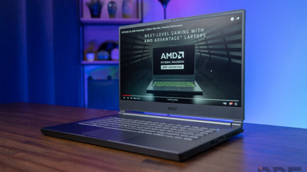 MSI Delta 15 AMD Advantage Review 14