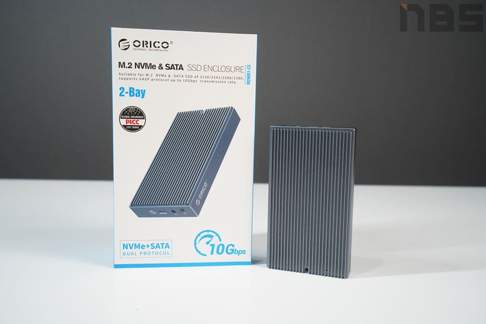ORICO SSD ENCLOSURE