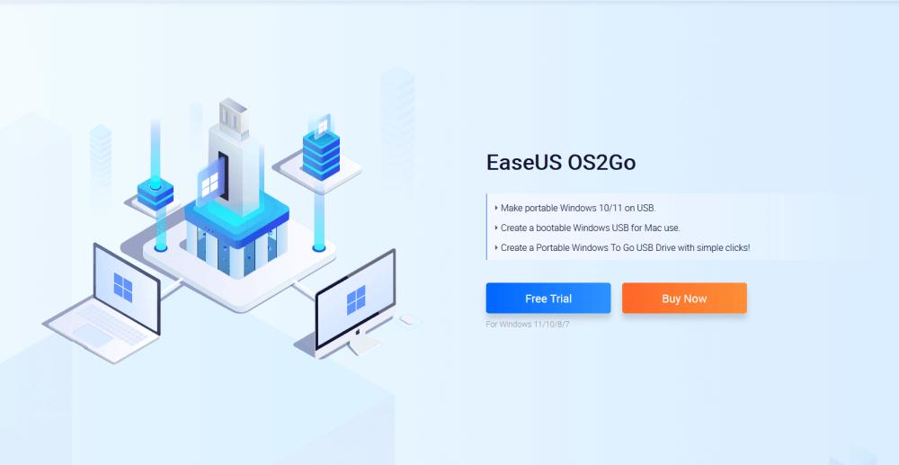 EaseUS OS2Go
