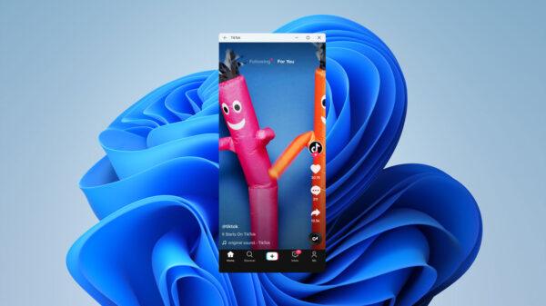 windows 11 android app tiktok