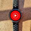 youtube music logo wear os