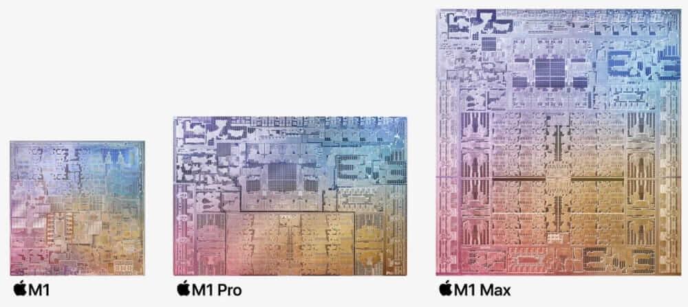 m1 size compare